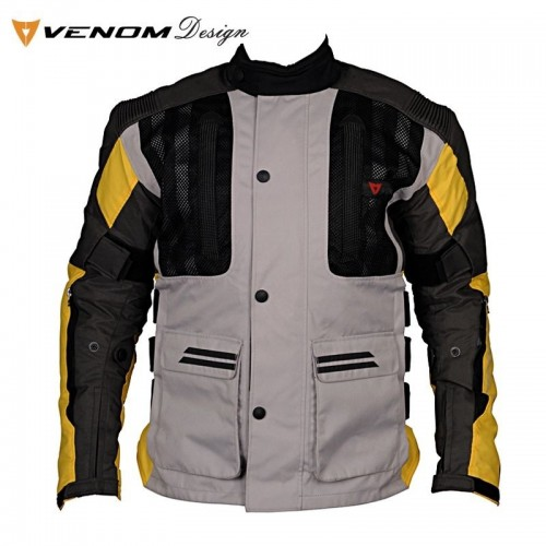 VENOM TOUREX TOURING BLACK/YELLOW LADY MOTOSİKLET MONTU