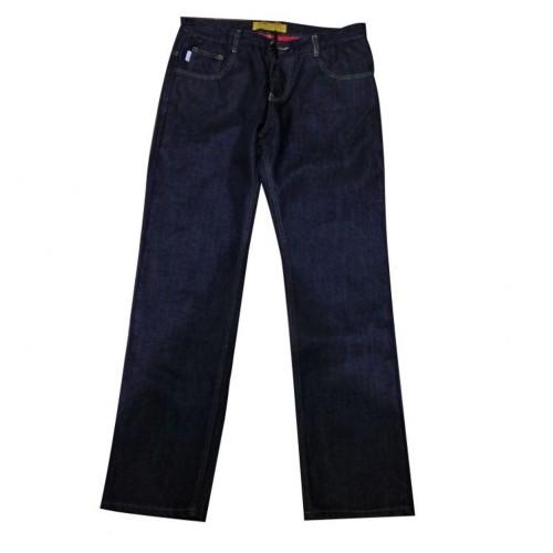 TECH90 Kevlar Kot New Pirate Mavi Motosiklet Pantolonu