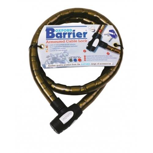 OXFORD OF145 Uzun Bariyer Zırhlı Kablo Kilidi