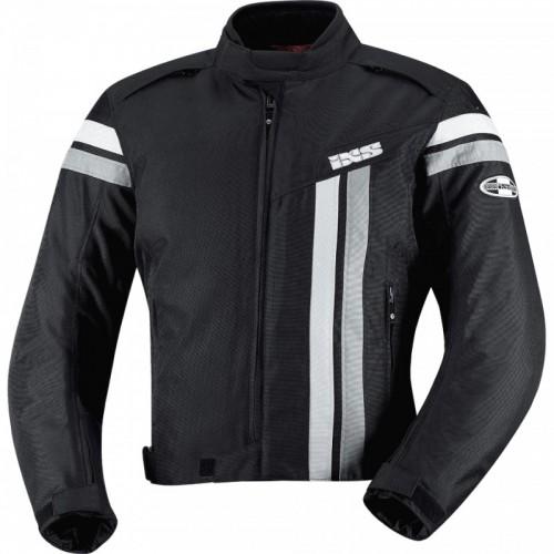 IXS Dutton Siyah-Gümüş Motosiklet Ceketi