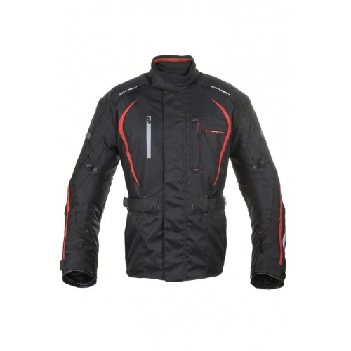 OXFORD SUBWAY 2.0 BLACK/RED MOTOSİKLET CEKERİ - TM131