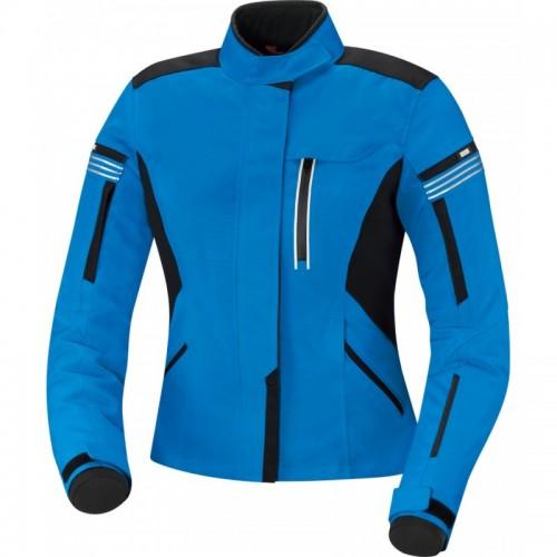 IXS Finja Mavi Siyah Bayan Motosiklet Ceketi