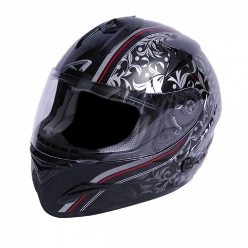 Astone Gtbgex-Vbk Valentin Siyah Motorcu Kaskı