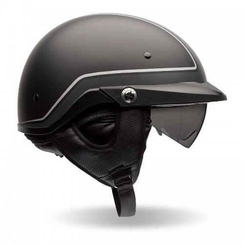 BELL PS PIT BOSS BLACK/GREY AÇIK KASK