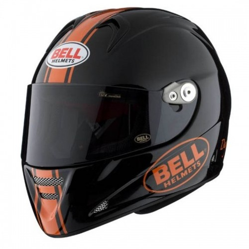 BELL M5X DAYTONA DYA BLACK/ORANGE KAPALI KASK