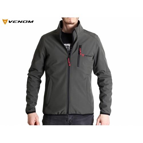 Venom Astana Softshell Haki Ceket