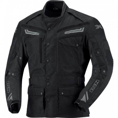 IXS Evans Siyah Motosiklet Ceketi