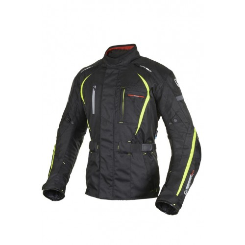 OXFORD SUBWAY 2.0 BLACK/FLUO MOTOSİKLET CEKETİ - TM132