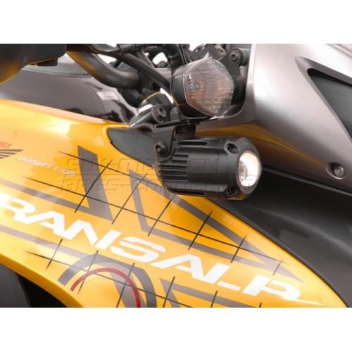 HAWK Light Mount Set Siyah Honda XL 700 V (\'08 - ) NSW.01.004.10100/B