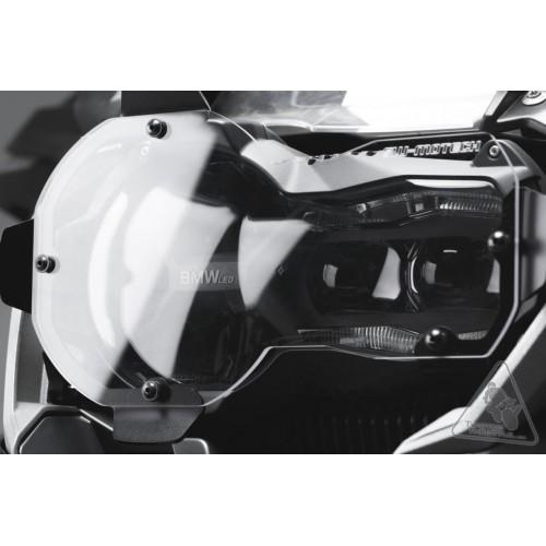 Headlight Protection. Black. BMW R 1200 GS LC / Adventure.