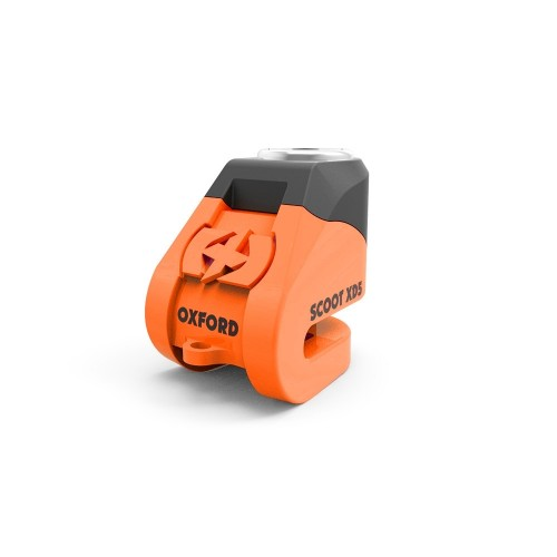 OXFORD LK261 SCOOT XD5 DİSK LOCK 5MM ORANGE BLACK