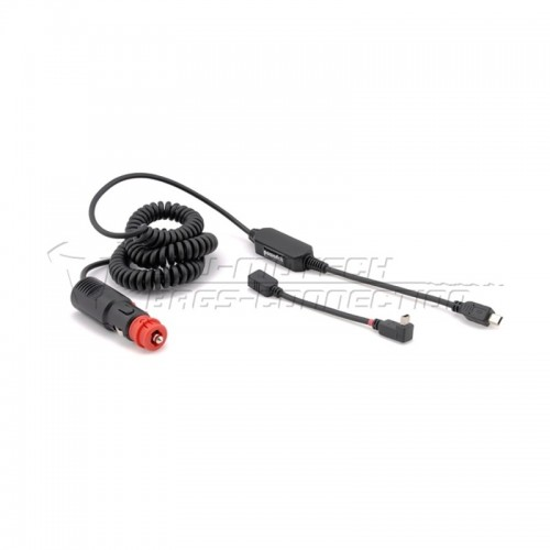 Adapter Dual Norm Plug To Mini-USB. 12 V. 100cm Coiled C. BC.POW.00.003.10000