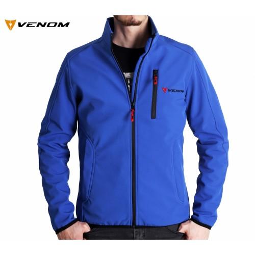 Venom Astana Softshell Mavi Ceket