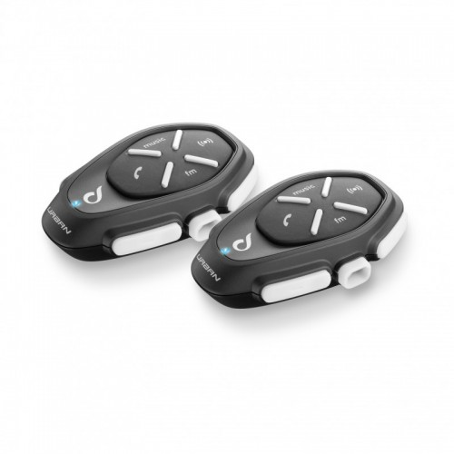 INTERPHONE URBAN BLUETOOTH INTERCOM ÇİFTLİ PAKET