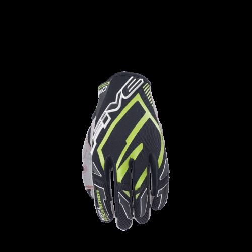 Five Gloves MXF Pro Rider Yeşil Motosiklet Eldiveni