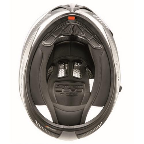 Caberg Ego Kask- Ultralight Beyaz-Siyah Kapalı Kask