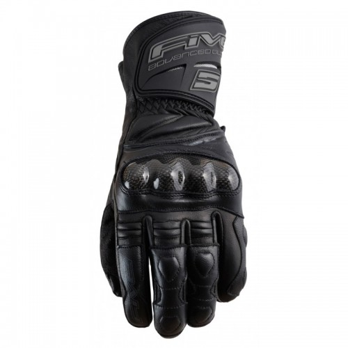 Five Gloves RFX New Siyah Motosiklet Eldiveni