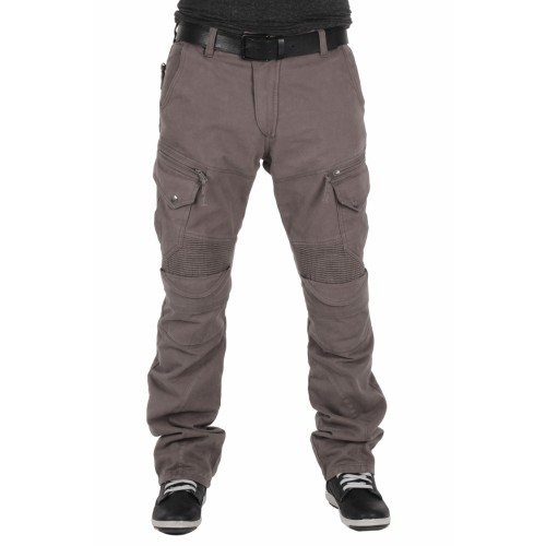 TECH90 Kevlar Kot Amanos Açık Kahve Kanvas Korumalı Motosiklet Pantolonu