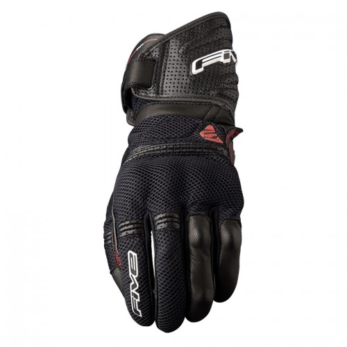 FIVE GLOVES GT2 AIR BLACK SİYAH MOTOSİKLET ELDİVENİ