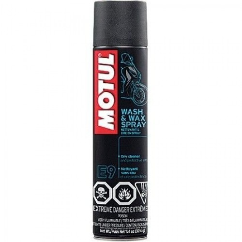 MOTUL E9 WASH & WAX SPRAY 400 ML
