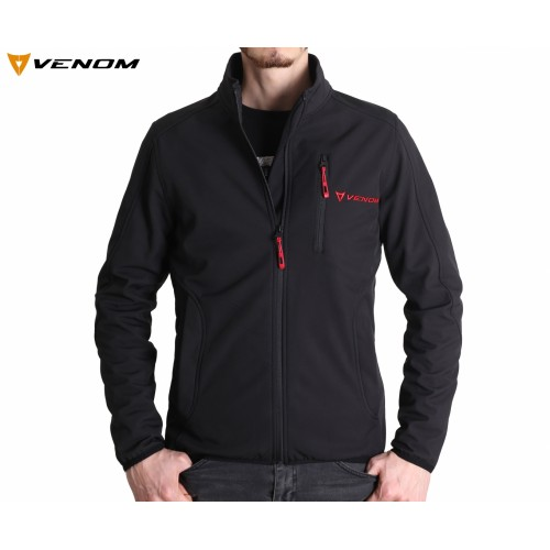 Venom Astana Softshell Siyah Ceket