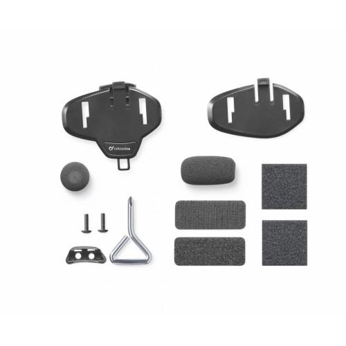 INTERPHONE ASSORTED VELCRO ADESIVE+CLIP SPARE PARTS KIT - TOUR/SPORT/URBAN