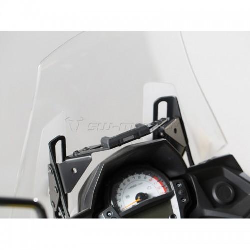 QUICK-LOCK GPS Mount. Black. Kawasaki Versys 650 (15-).   GPS.08.646.10700/B