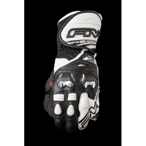 FIVE GLOVES RFX2 AIRFLOW WHITE/BLACK MOTOSİKLET ELDİVENİ