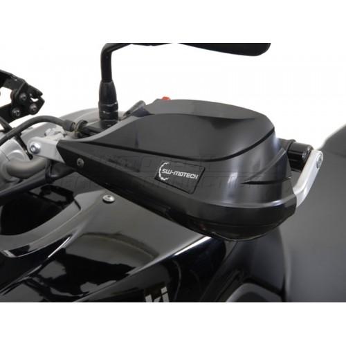 Handguard Kit Siyah Bar End Weight Included Kawasaki Versys (\\'07 - \\'08) HPR.00.133.10300/B