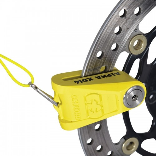OXFORD ALPHA XD14 DISC LOCK 14MM YELLOW - LK276