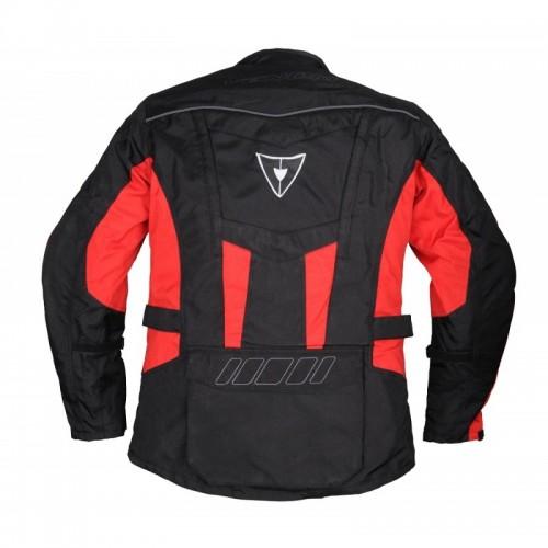 Venom Evolution Touring Siyah-Kırmızı Motosiklet Ceketi