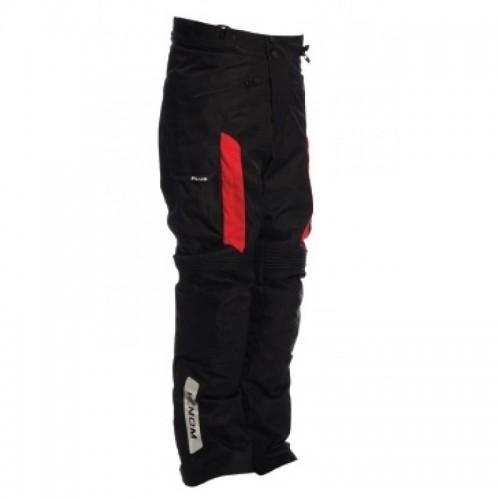 Venom TRG Cascade Siyah-Kırmızı Erkek Motosiklet Pantolonu