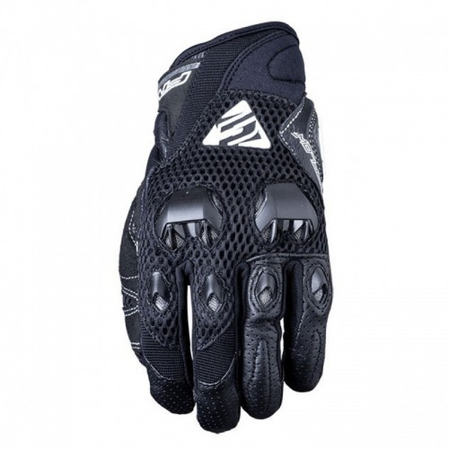 FIVE GLOVES AIRFLOW SİYAH MOTOSİKLET ELDİVENİ