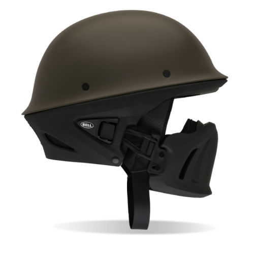 BELL PS ROGUE NAZİ CHOPPERS KASK SOLID MATTE GUN METAL