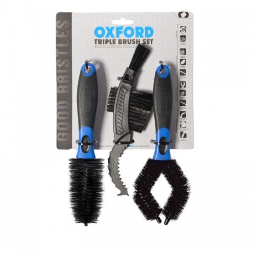 OXFORD TRIPLE BRUSH SET - OX244