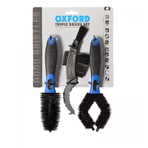 OXFORD TRIPLE BRUSH SET - OX244
