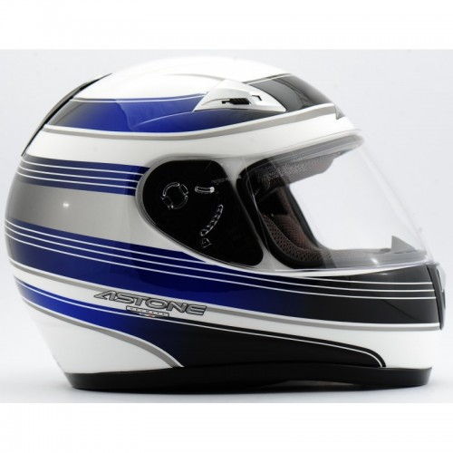 ASTONE GTO Graphic Sportman White Blue