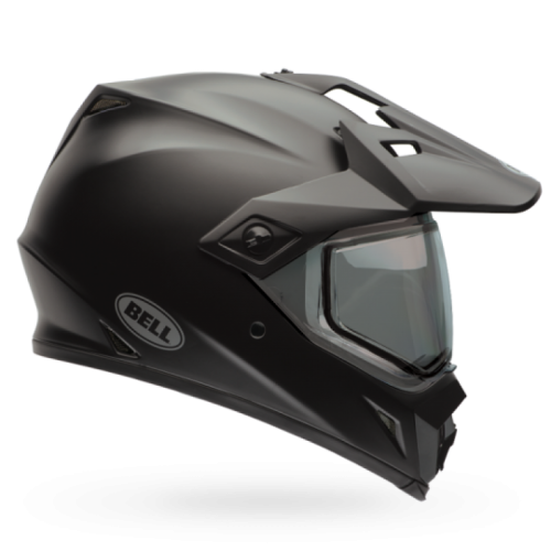 BELL MX-9 ADVENTURE MIPS SOLID BLACK KAPALI KASK