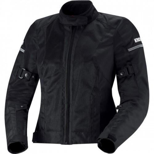 IXS Alva Siyah Bayan Motosiklet Ceketi