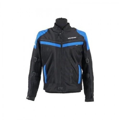 Venom Dynamıc Pro Erkek Motosiklet Montu / Mavi