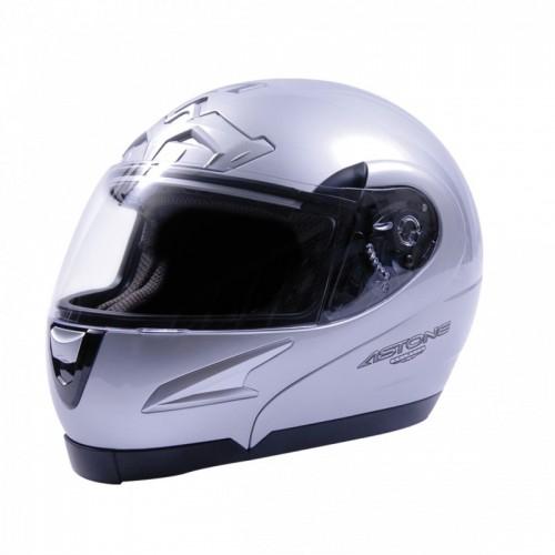 Astone Kask- Vsom-Sv Flip-Up Silver Çene Açılır Kask