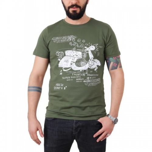 CHALK ERKEK MOTOSİKLET TİŞÖRT TASARIM 04