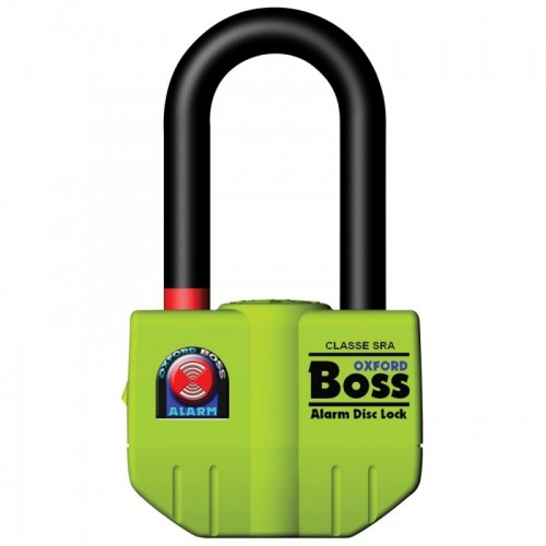 OXFORD BOSS ALARM DISC LOCK 14MM YELLOW - OF3