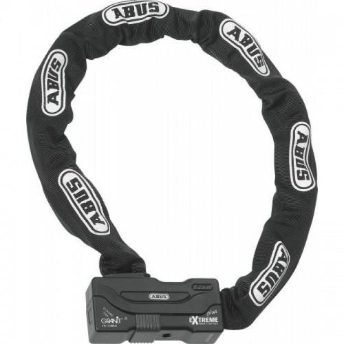 Abus Kilit – 59/12HKS140 Siyah Extreme Chain Plus Zincir Kilit