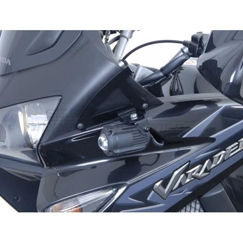 HAWK Light Mount Set Siyah Honda XL 1000 V (\'07 - ) NSW.01.004.10200/B