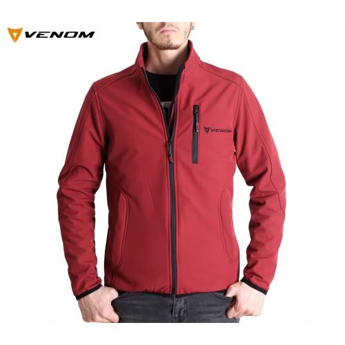 Venom Astana Softshell Bordo Ceket