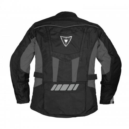 Venom Evolution Touring  Siyah-Gri Motosiklet Ceketi