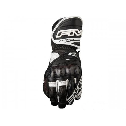 FIVE GLOVES RFX 2 AIRFLOW BLACK WHITE MOTOSİKLET ELDİVENİ