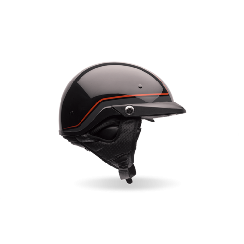 BELL PS PIT BOSS ORANGE/BLACK AÇIK KASK