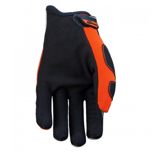 FIVE GLOVES MXF3 WHITE-ORANGE MOTOSİKLET ELDİVENİ